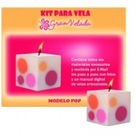 Kit Para Velas Modelo Pop