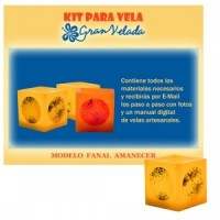Kit Para Velas Fanal Amanecer