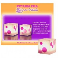 Kit Para Velas Fanal Pop
