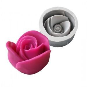 Stampo a forma di rosa per fare sapone